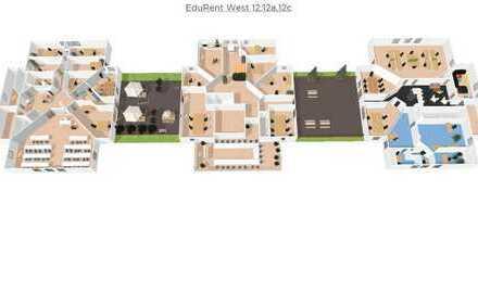 Büros und Coworkingdesks in modernen und exklusiven Flächen mit Konferenzräumen/Seminarräumen
