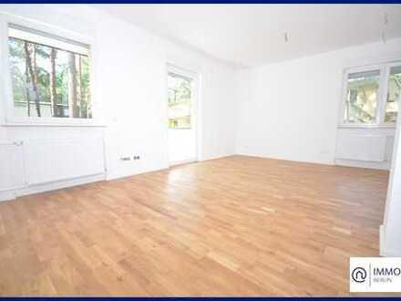Wohnung mit Garten im Grünen - Ruhige 3 -Zimmer Wohnung mit EBK & Balkon