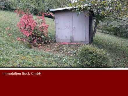 Flurstück 321 ... Meins!!! Gartengrundstück mit Gerätehütte, schöner Aussicht, Ruhe und viel Platz!