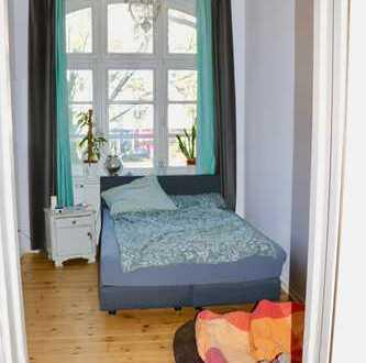 Exklusive 2,5-Zimmer-Hochparterre-Wohnung mit Garten und Balkon in Rotherbaum, Hamburg