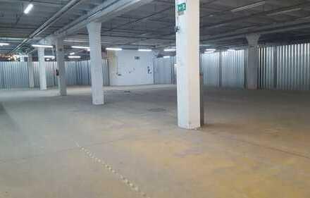 Nur 3,50 €/m², provisionsfrei, 3.000 m² Lagerhalle, Rampenandienung