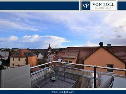 *reserviert*Barrierefrei - Traumhafte Dachgeschosswohnung mit Blick über Eyb
