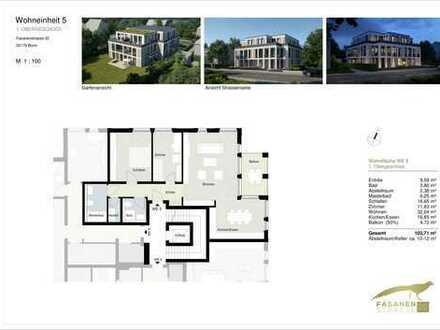 3-Zimmer-Neubauwohnung