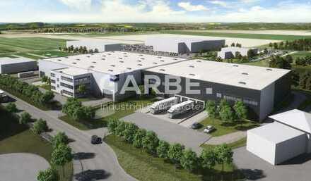 Bau hat begonnen! Provisionsfreier Neubau: Ab 5,40 €/m², ca. 3.000 m² Hallenfläche