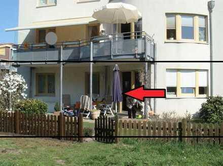 Zwei-Zimmer-Terrassenwohnung in ruhiger Lage