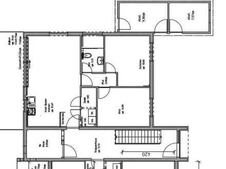 Nachmieter: Attraktive 3-Zimmer-Wohnung mit Einbauküche und Terrasse in Epfendorf