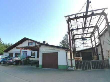 Produktionsgebäude ca. 1.000 m² + Wohnhaus ca. 177 m² - zu verkaufen