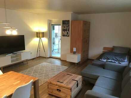 Hochwertig möblierte ein Zimmer Wohnung in Heilbronn (Kreis), Bad Wimpfen