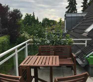 Wunderschöne 3-Zimmer-Maisonette-Wohnung mit Balkon und Einbauküche in Essen Werden