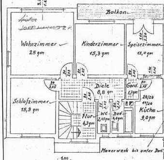 Stilvolle, modernisierte 5-Zimmer-Wohnung mit Balkon in Allach, München