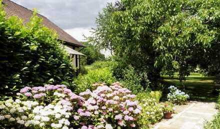 MGK bietet Hagenburg: Eigentumswohnung im Fachwerkhaus mit großzügigem Garten