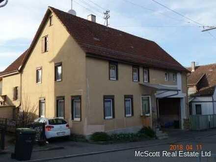 Altes geräumiges, teilrenoviertes Bauernhaus mit Scheune in Magstadt PREISREDUZIERUNG !