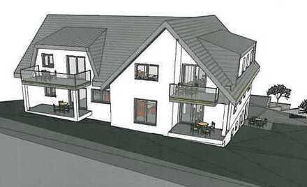 Dachgeschosswohnung in Breuberg - Erstbezug mit Balkon: attraktive 4-Zimmer