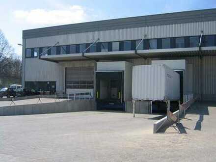 """BAUMÜLLER & CO."" ca. 3.200 qm Lagerhalle - Rampe + Büro"