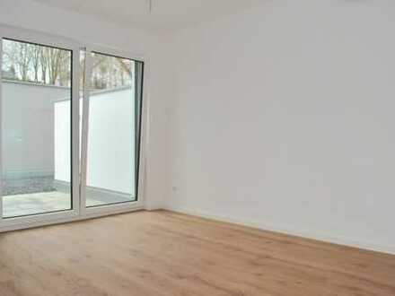 E & Co. - Hochwertige 2-Zimmer Neubauwohnung mit Terrasse am Moniberg - Erstbezug - ab sofort!