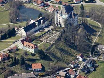 Historische Schlossanlage in exponierter Lage, Sanierungsobjekt mit gewaltigem Potential