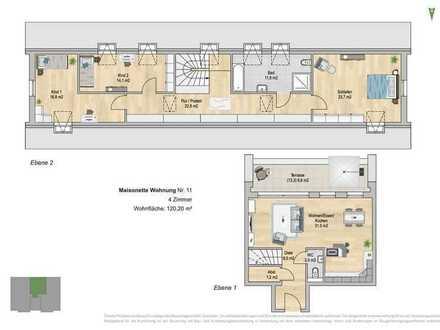 4 Zimmer-Maisonette-Wohnung der besonderen Klasse