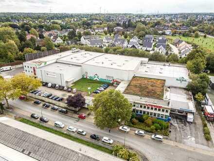 Büroflächen an Logistikstandort | Rampenandienung | RUHR REAL