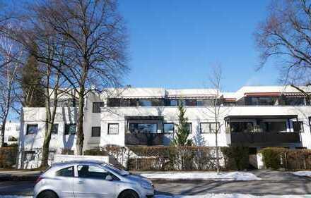CASACONCEPT Harlaching: Großzügige, helle 3-Zimmer-Penthouse-Wohnung mit schöner Dachterrasse...