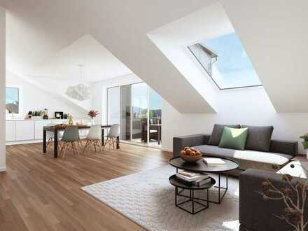 Moderne Dachgesschosswohnung mit Weitblick