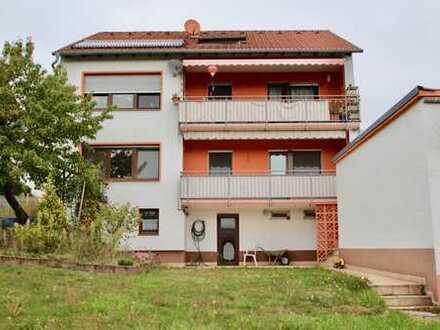 Gepflegte 4-Zimmer-Wohnung mit Balkon und EBK in Johannesberg (2 Wohnungen EG oder 1.OG verfügbar)