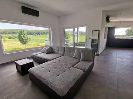 NEUBAU! Luxuriöse Loft Wohnung, Top Ausstattung; Balkon, KLIMAANLAGE, FBH, Smart Home Steuerung
