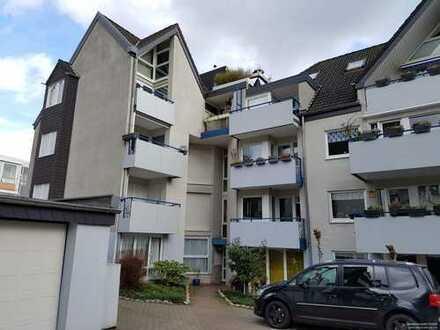 Maisonette Wohnung auf 72 m² mit zwei Balkonen in Mülheim
