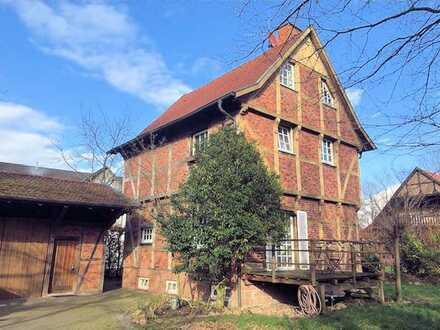Fachwerkhaus im Gewerbegebiet Wolbecker Windmühle - Arbeiten und Wohnen in idylischer Lage