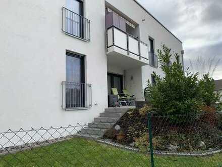 2-Zimmer-Erdgeschosswohnung mit Terrasse und Gartenanteil in Schwandorf