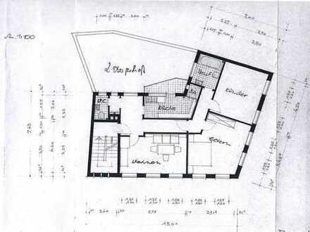 Smart Home (KNX/EIB) Innenstadtlage, 4 ZKB ca. 92 m², Design-Fussboden, frisch saniert/renoviert