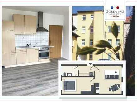 Kleine süße 2 Zimmer-Eigentumswohnung mit EBK und Stellplatz im beliebten Giebichensteinviertel!