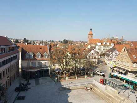 Spektakuläre Dachgeschoßwohnung im Herzen von Zirndorf