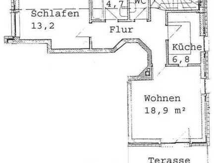 Waldtrudering - 2-Zimmer-Wohnung