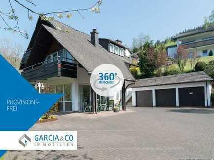 360° Immobilie **Vielseitig. Variantenreich - Zweifamilienhaus in Lennestadt-Ortsteil**