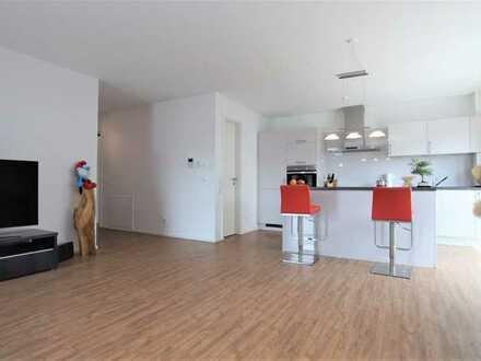 Neuwertige 2-Zimmerwohnung mit Einbauküche, Balkon und Carport in Kronau!