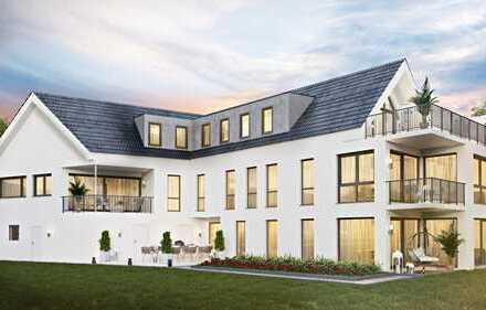 Exclusive Neubau EG-Wohnung mit Garten in Zentrum von Seeheim!!