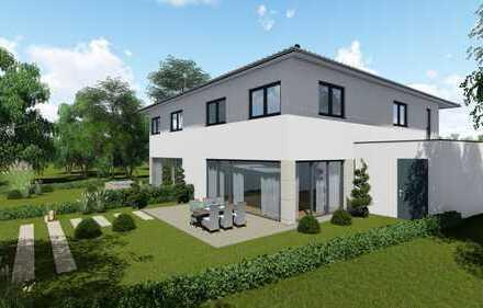 Letzte Doppelhaushälfte mit freiem Blick in die Natur & moderner Ausstattung