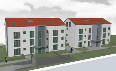 **Baubeginn erfolgt** 2 ZKB Gartenwohnung ** Neubau in Stadtbergen ** ELMER-FRYAR-CIRCLE **