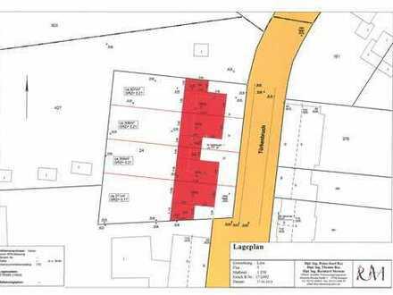 Baugrundstücke für Doppelhausbebauung in Krefeld-Linn, reserviert