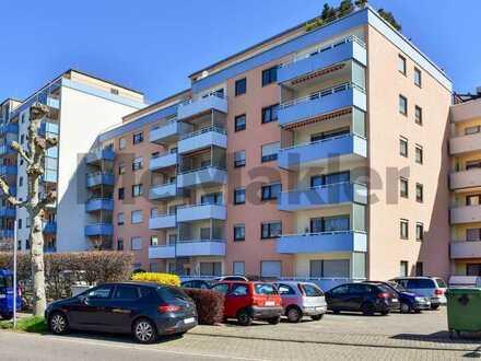Attraktive Kapitalanlage: Gepflegte 2-Zimmer-Erdgeschosswohnung mit Balkon nahe Heidelberg