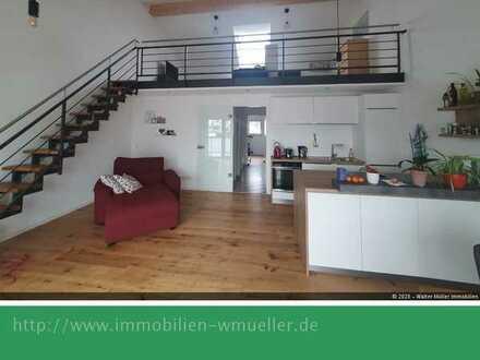 Moderne Galeriewhg., ca. 88 m² Wohn-/Nutzfläche. in 86641 Rain!