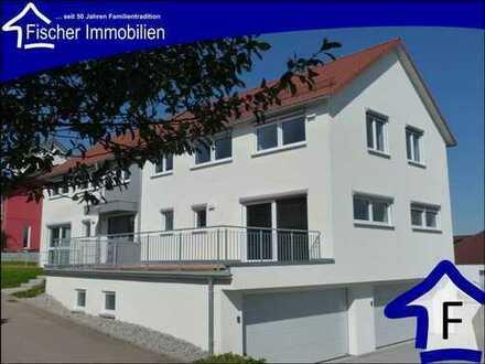 VORGEMERKT Ellwangen, so wohnt man heute - Neubau Doppelhaushälfte in ökologischer Bauweise