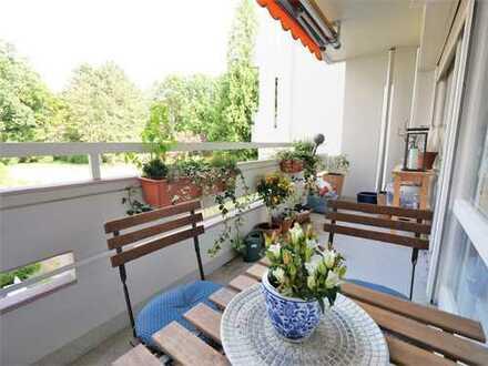 SCHWIND IMMOBILIEN - 1-Zimmer-Apartment mit Balkon in direkter Nähe zu den Wiesbadener Kuranlagen