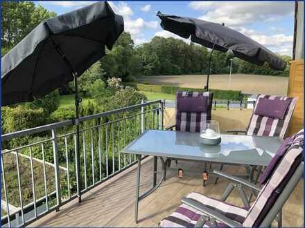 Blick ins Grüne -  schöne 4 Raumwohnung mit Sonnenbalkon in  Mülheim-Heißen