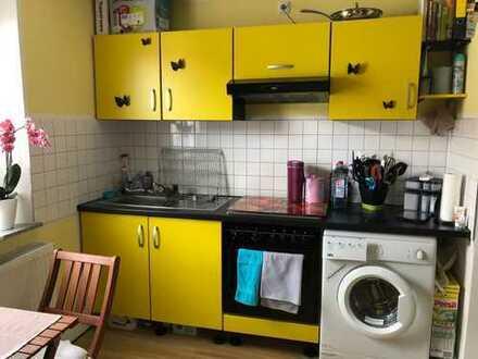 Stilvolle 2-Zimmer-Dachgeschosswohnung mit Einbauküche in Augsburg-Lechhausen