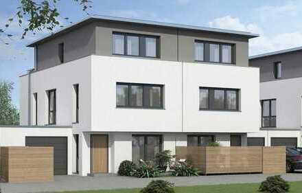 Neubau-Doppelhaus in exklusivem Wohngebiet