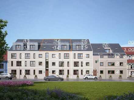 Schöne 4-Zimmer-Maisonette-Wohnung mit Blick auf die Strahlenburg