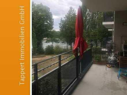 Köln-Mülheim, helle 4 Zimmer-Wohnung mit Balkon und Rheinblick
