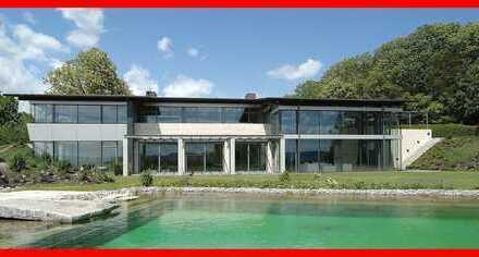 Hightech-Villa mit Blick auf die Schwäbische Alb