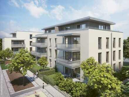 Barrierefreie 4-Zi.-Wohnung mit Süd-Balkon in schöner Umgebung mit Top-Infrastruktur